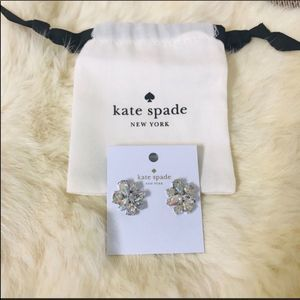 NWT Kate Spade Gorgeous Cluster Earrings! ❤️♠️